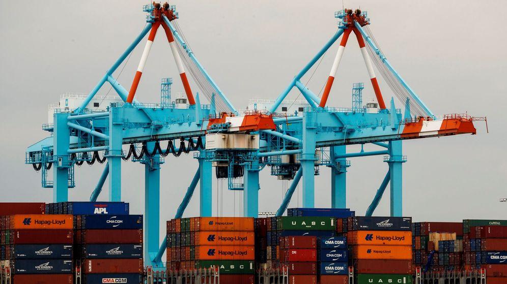 Foto: Vista del puerto de Newark, uno de los más grandes de Estados Unidos. (EFE)
