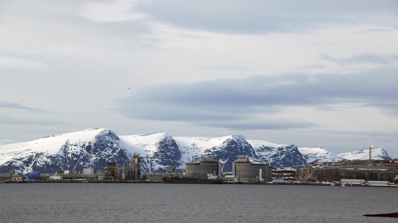 Planta de extracción de gas de Snoehvit, cerca de Hammerfest, en abril de 2013. (Reuters)