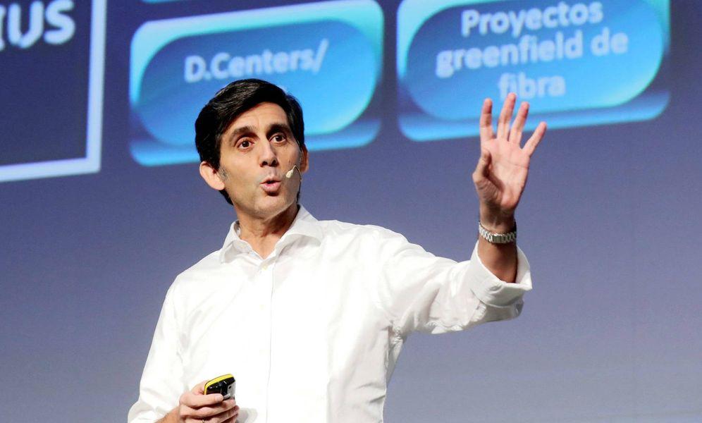 Foto: El presidente ejecutivo de Telefónica, José María Álvarez-Pallete. (EFE)