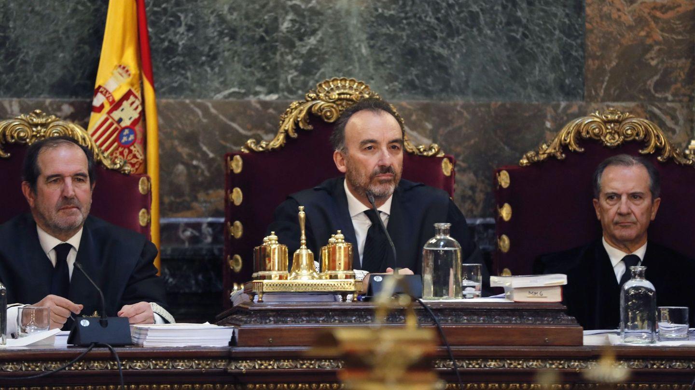 El magistrado Manuel Marchena (c). (EFE)