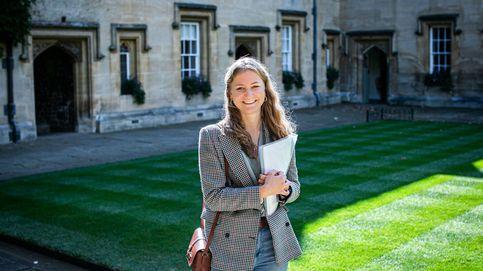 Elisabeth de Bélgica, una princesa muy Letizia en su primer día de universidad