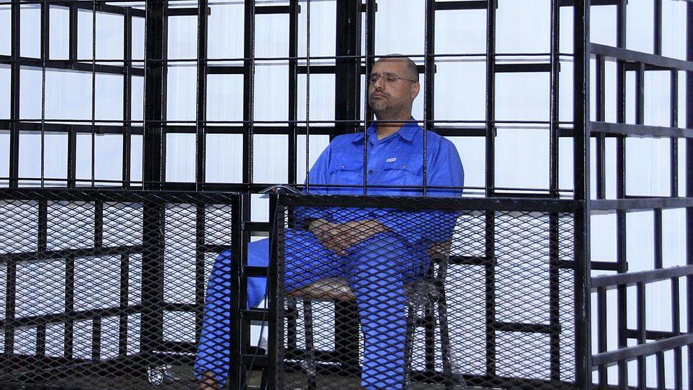 Libia condena a muerte a Seif al Islam, el hijo mayor de Gadafi