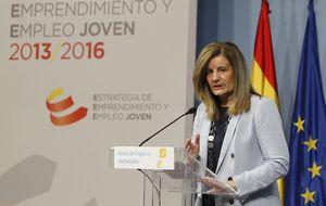 La tarifa plana de 100 € incentiva 111.000 contratos indefinidos