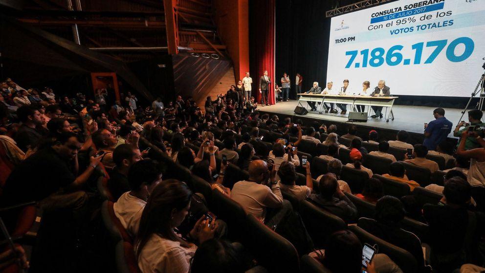 Venezuela vota en masa contra Maduro: el 98% rechaza su Asamblea Constituyente