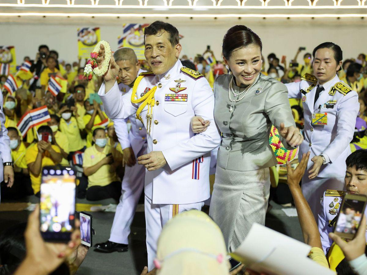 Foto: Los reyes de Tailandia. (Reuters)