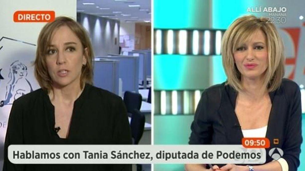 """Tensa disputa entre Griso y Tania Sánchez: """"No seas injusta conmigo"""""""