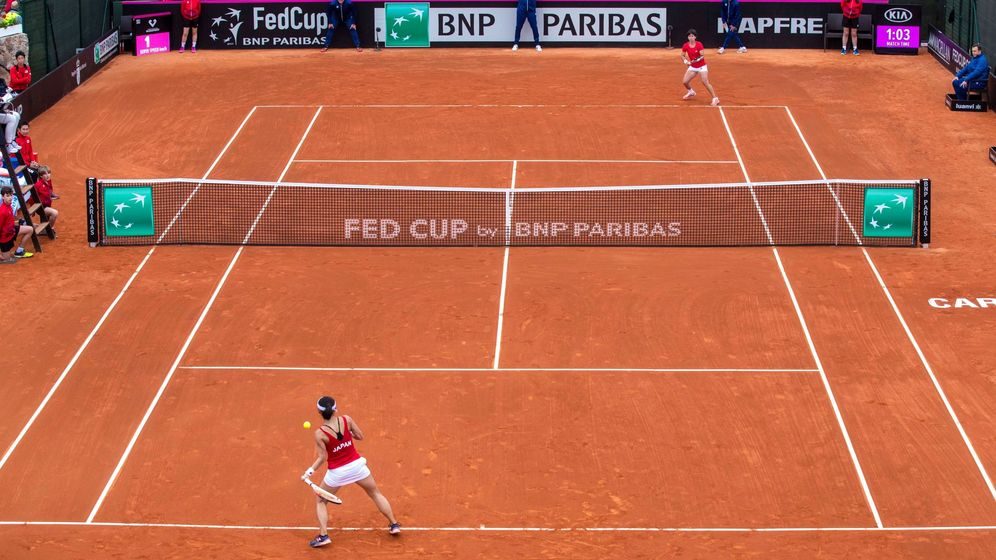 Foto: El tenis podrá practicarse en la Fase 1 de la desescalada. (EFE)