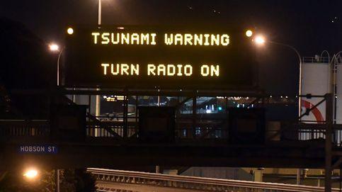 Registran un tsunami de 2 metros en Nueva Zelanda