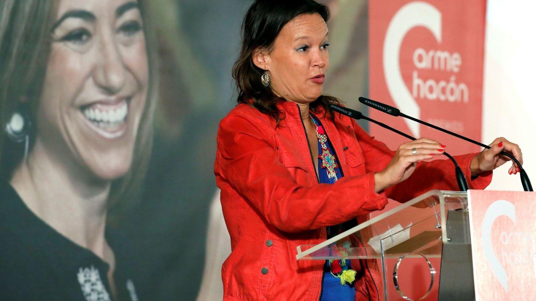 La exministra, en la entrega de los II Premios Carme Chacón en octubre del año pasado. (EFE)