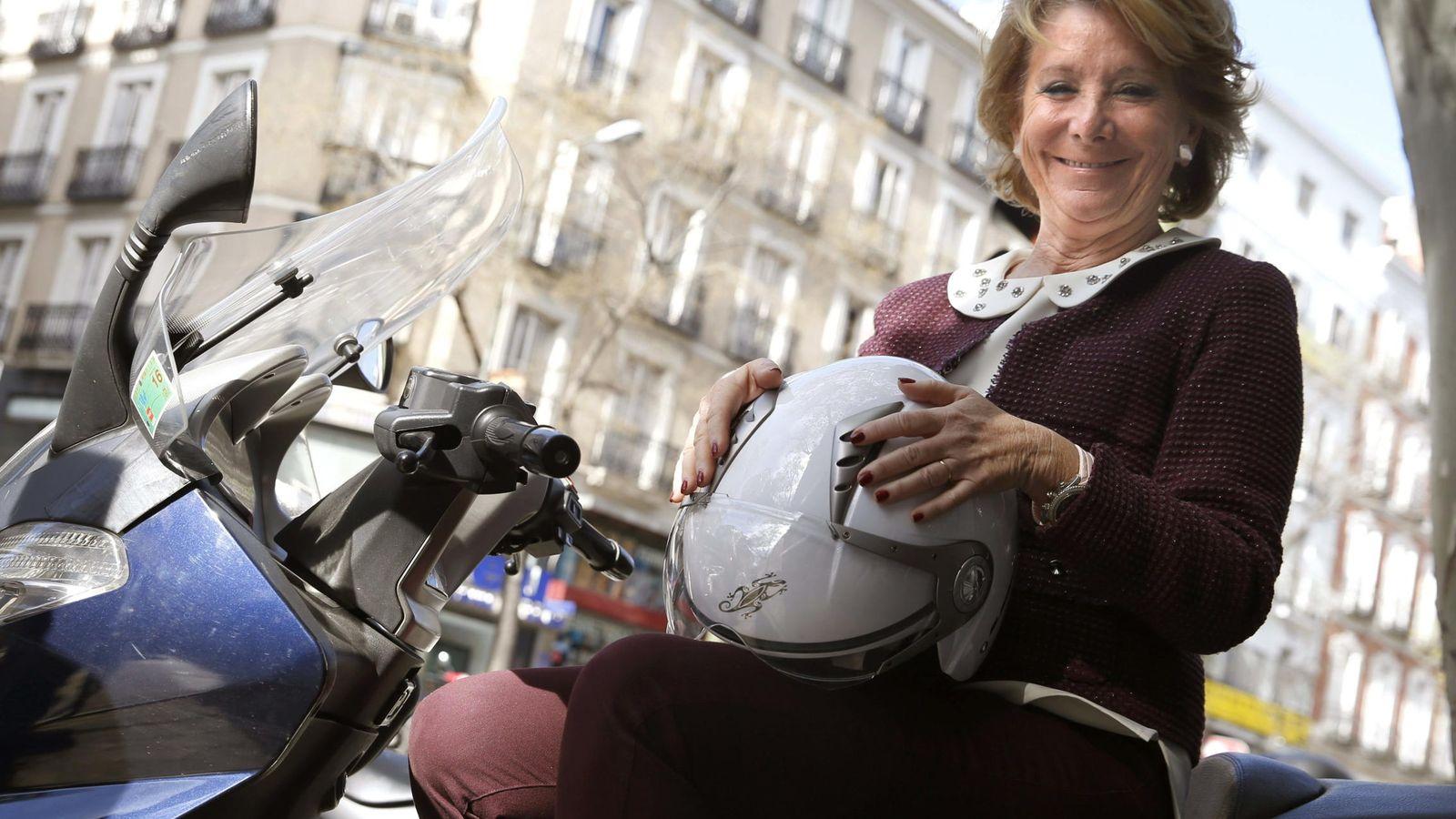 Foto: La candidata a alcaldesa de Madrid por el PP, Esperanza Aguirre. (Efe)
