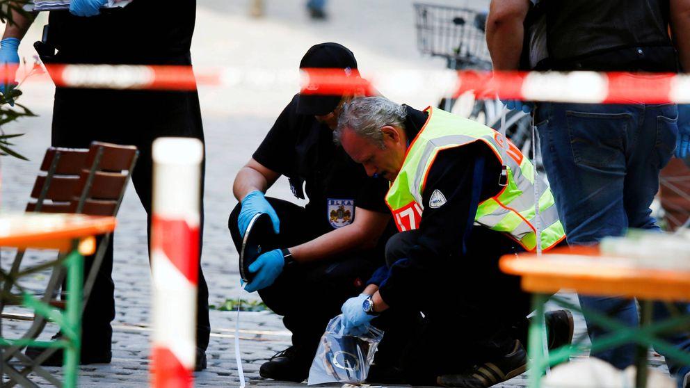 Berlín se atrinchera como si viera cercana una catástrofe