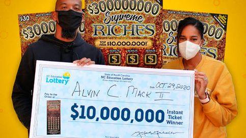 Un militar jubilado gana 8,5 millones a la lotería y los usará para recordar a su hijo
