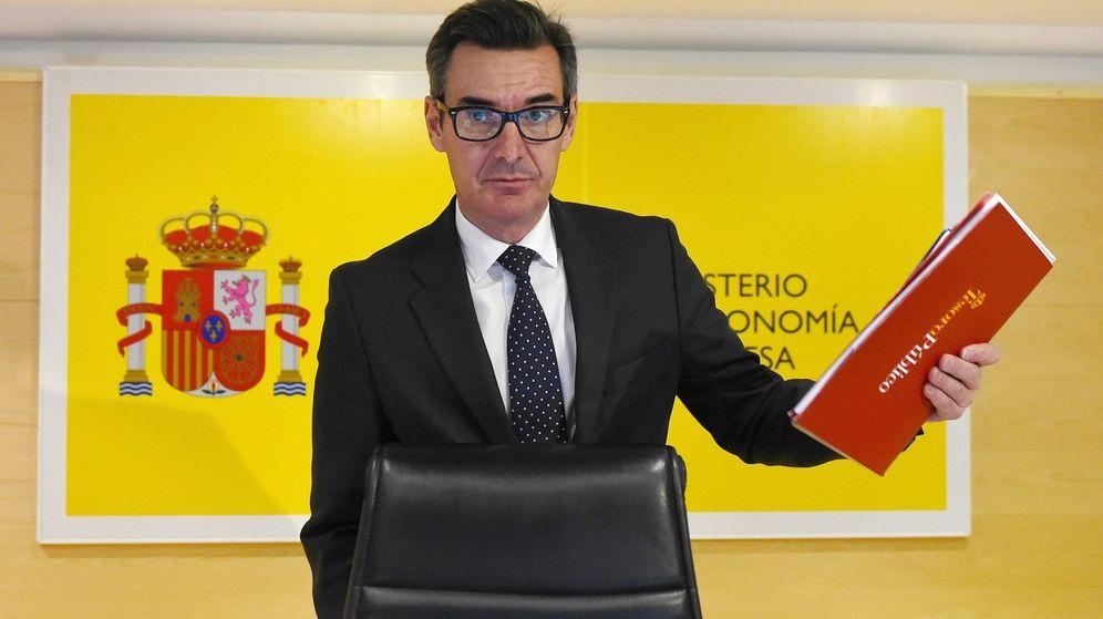 Foto: El secretario general del Tesoro, Carlos San Basilio, en un acto. (EFE)