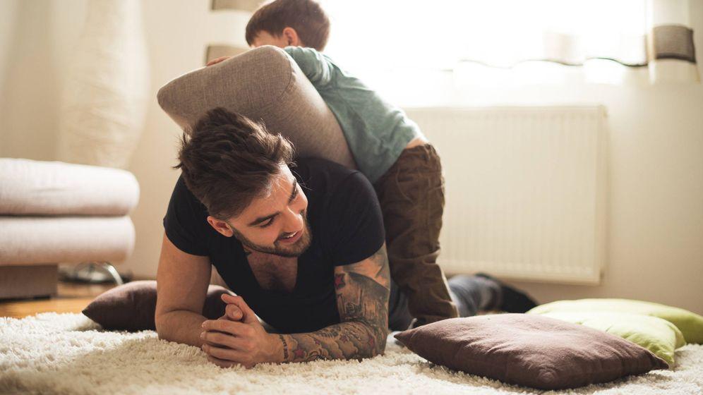 Foto: Juega con tu hijo. (iStock)