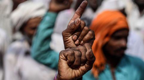Comunidades tribales protestan en bombay