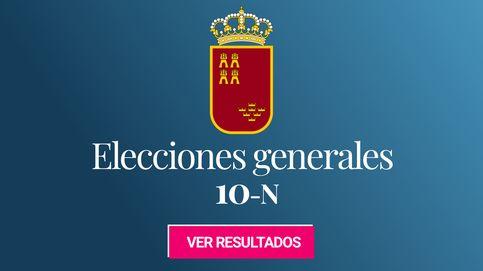 Resultado de las elecciones generales: triple empate en la provincia de Murcia