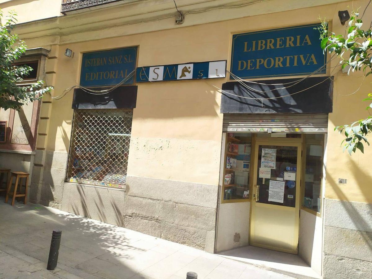 Foto: La librería Esteban Sanz. (RLC)