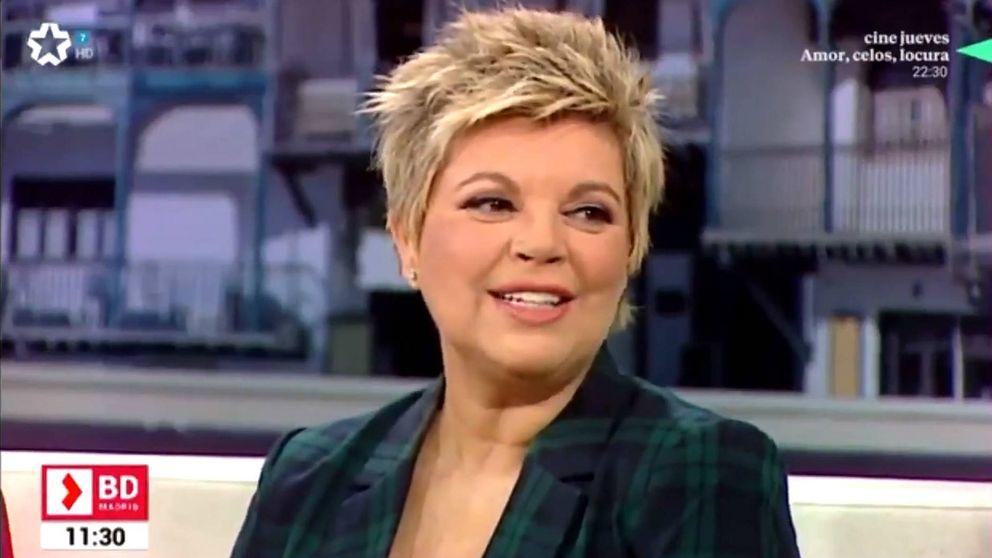 Terelu Campos se refugia en Telemadrid tras huir de 'Sálvame'