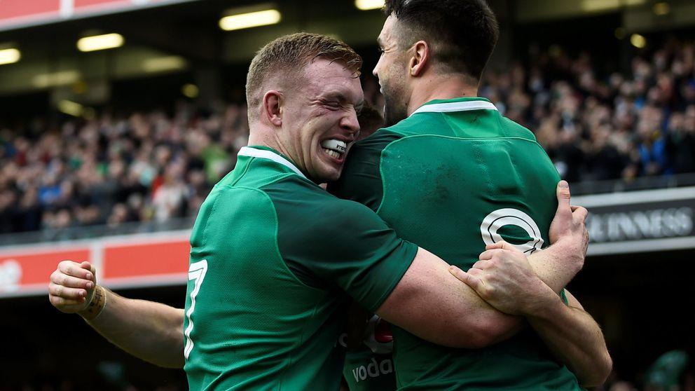 Irlanda gana y aprovecha el tropiezo de Inglaterra para llevarse el Seis Naciones