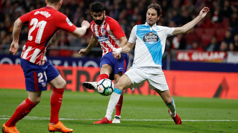 Diego Costa jugó media hora. En su primera jugada estuvo a punto de marcar el 2-0. (Reuters)