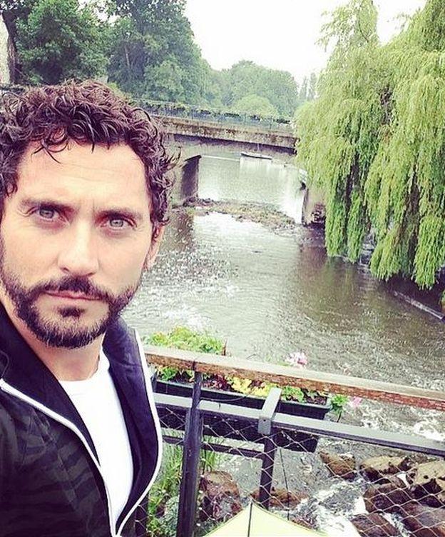 Foto: Paco León, en una imagen de su Instagram