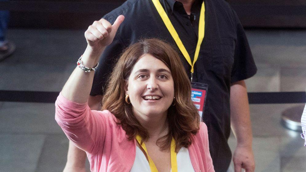 Foto: Marta Pascal, durante una jornada de la Asamblea Nacional del PDeCAT. (EFE)