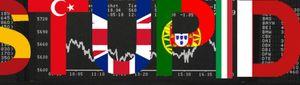 Foto: España, de los PIGS a los STUPID de la deuda