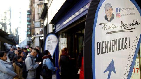 Doña Manolita' mejora las ventas y espera de batir su propio récord de premios