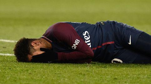Alarma en el PSG: Neymar se lesiona el tobillo a 9 días del duelo contra el Madrid
