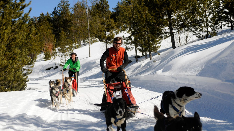 Foto: Mushing, un maravilloso deporte de montaña (Foto: Virós Vallferrera/Tot Nòrdic)