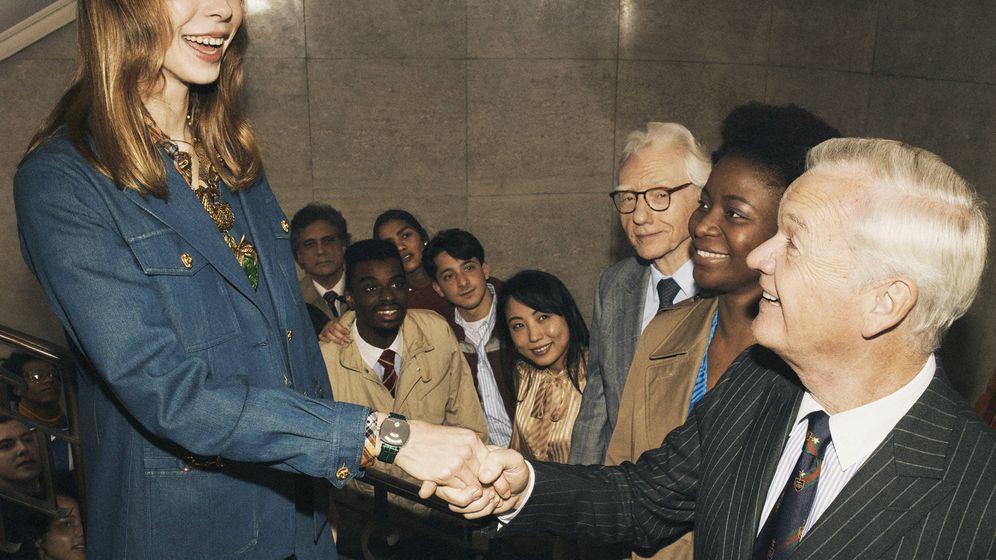 Foto: La nueva campaña de Gucci, concentra efusividad y espíritu de bienvenida para poner en relieve la integración y la pluralidad.