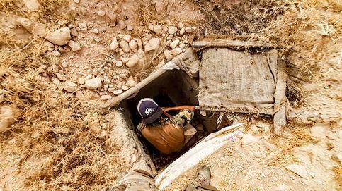 Españoles excavando como topos en una colosal fortaleza bajo las montañas de Irak