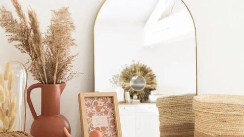 Un solo espejo, como estos de Maisons du Monde, cambiará la decoración de tu casa