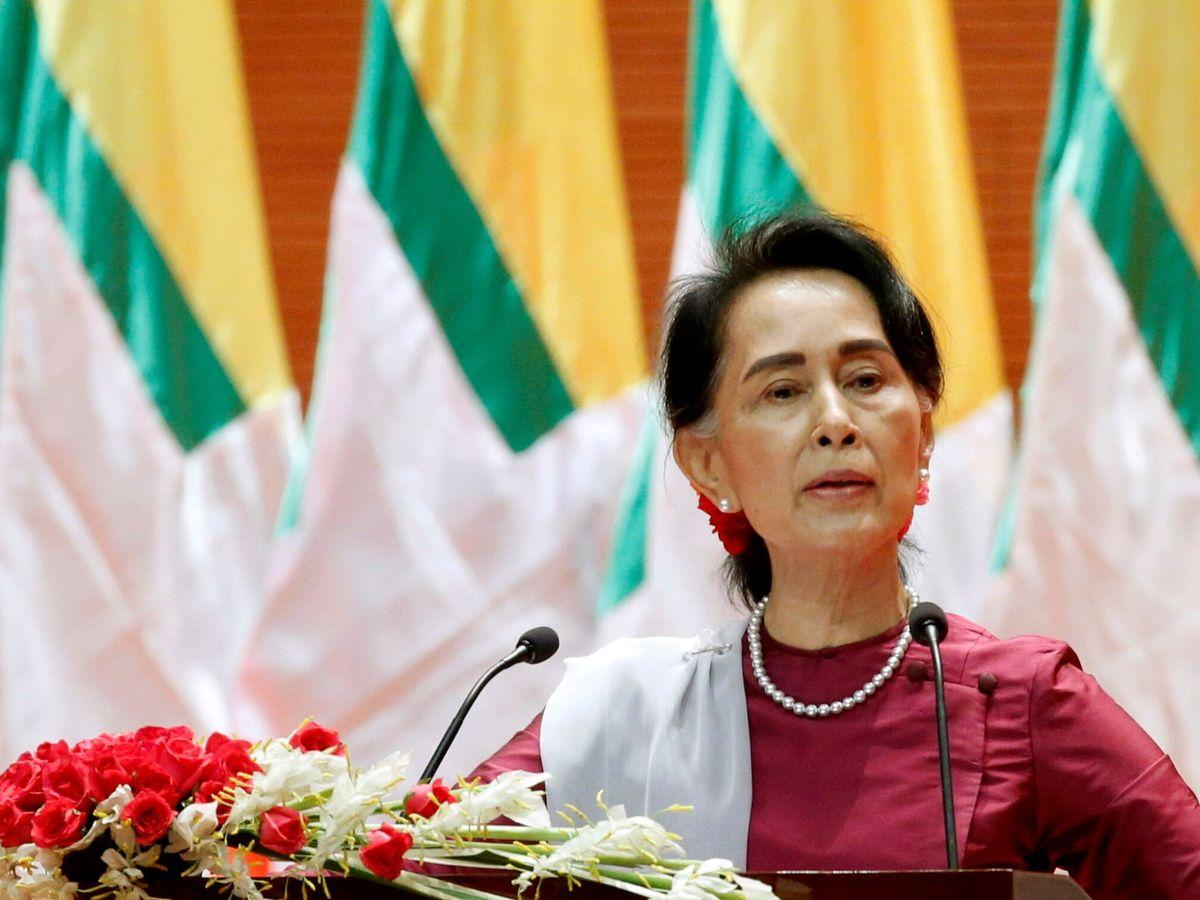 Foto: Aung San Suu Kyi, en una imagen de archivo. (Reuters)