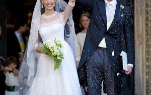 La boda romana de Amadeo de Bélgica y la periodista Lili Rosboch
