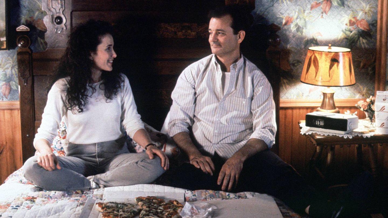 Bill Murray y Andie MacDowell. (CP)