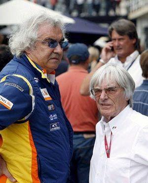 Briatore tiene la llave para vender el club de Ecclestone y Agag