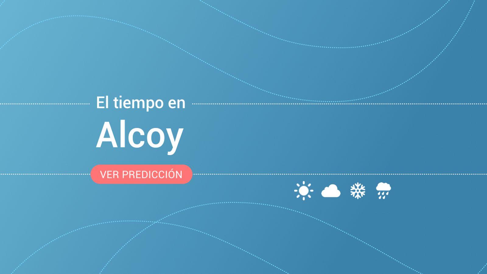 Foto: El tiempo en Alcoy. (EC)