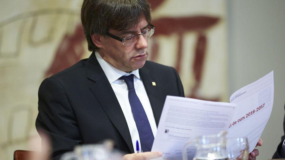 Foto: Puigdemont planea convocar elecciones en 2017 para evitar un referéndum unilateral. (EFE)