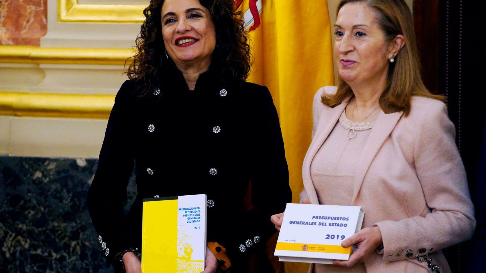 Foto: La ministra de Hacienda, María Jesús Montero (EFE)