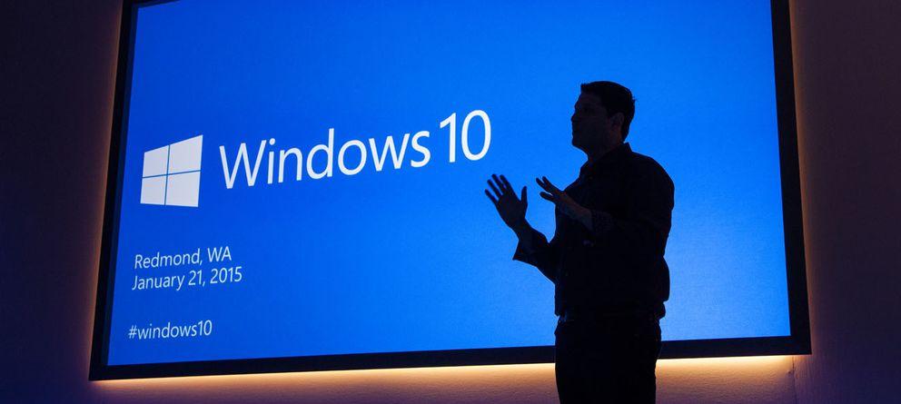 Foto: Terry Myerson, vicepresidente de Sistemas Operativos en Microsoft, presenta Windows 10 (Reuters)