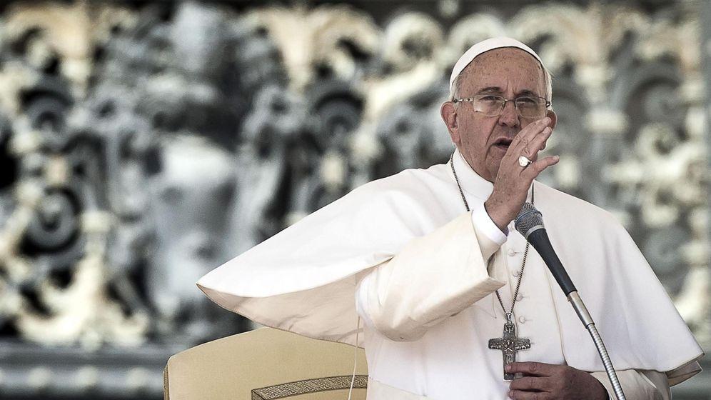Foto: El Papa Francisco en la plaza de San Pedro en Ciudad del Vaticano. (Efe)