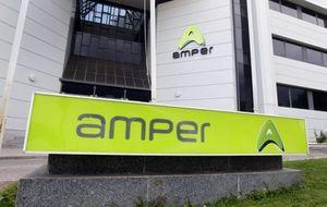 Los títulos de Amper se hunden un 16% tras solicitar el preconcurso
