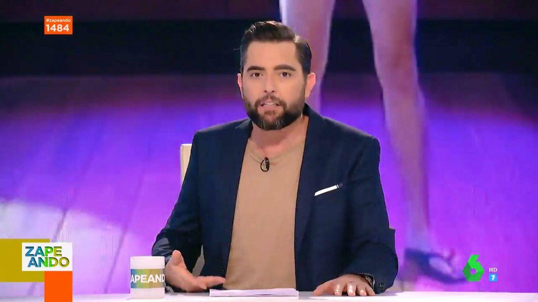 Dani Mateo 'culpa' a Cristina Pedroche de su momento más embarazoso en La Sexta