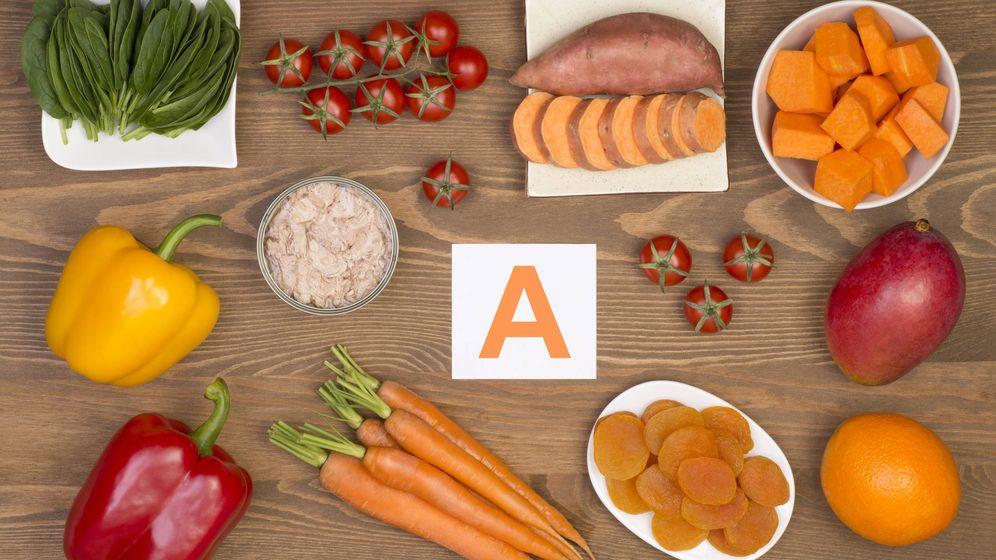 Foto: Alimentos ricos en vitamina A. (iStock)