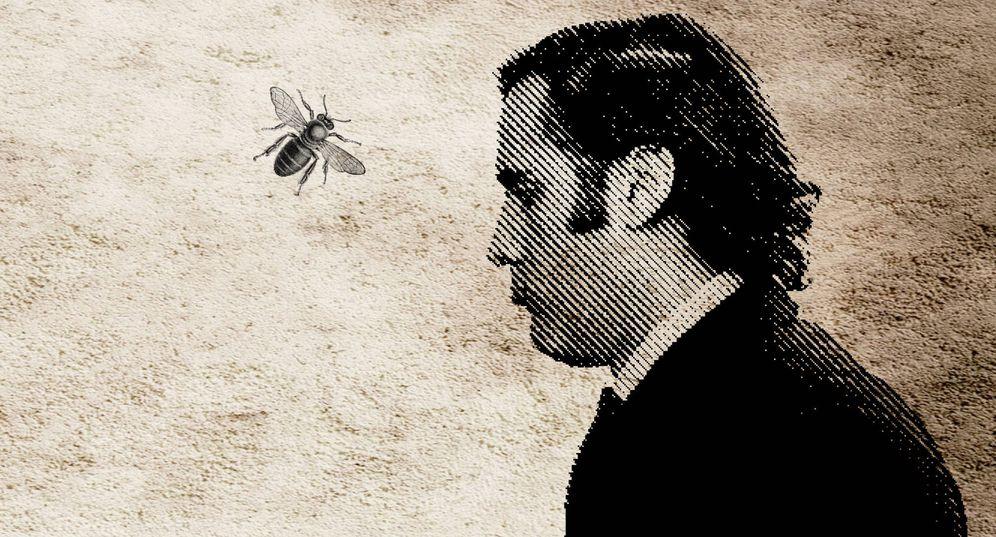 Foto: Álvaro Ruiz-Mateos, en una ilustración de Bolívar Alcocer