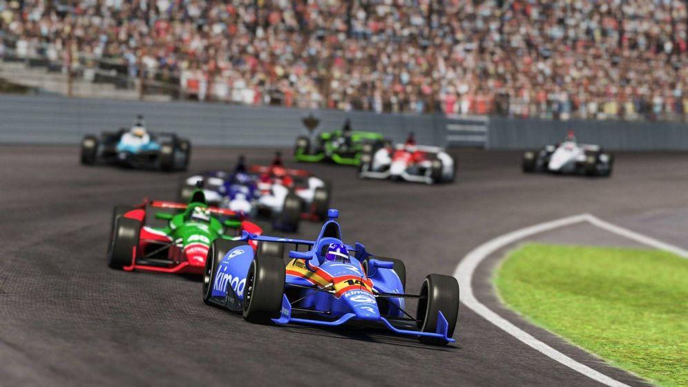 Foto: Fernando Alonso también gana en el mundo virtual. (@alo_oficial)