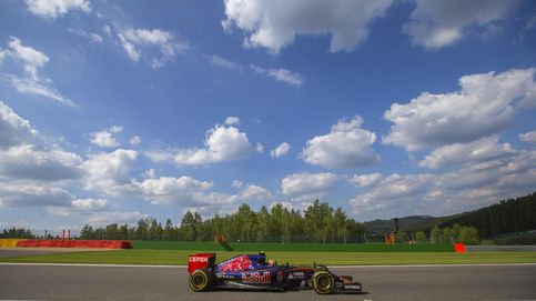 Carlos Sainz y Toro Rosso le ponen al mal tiempo buena cara