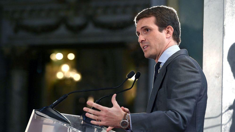 Foto: Pablo Casado, en Foro ABC. (EFE)
