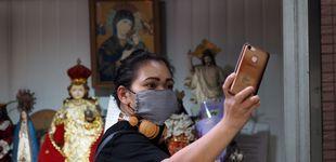 Post de  Un selfie a la hora para demostrar que se cumple cuarentena en un estado de la India